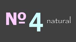 no4  natural